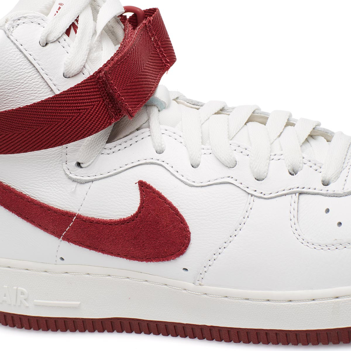 Lyst Nike Air Force 1 Hi Retro Qs In White For Men