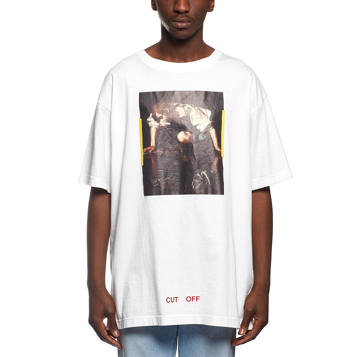 8dd68e7834 Lyst - Off-White c o Virgil Abloh Narciso T-shirt in White for Men