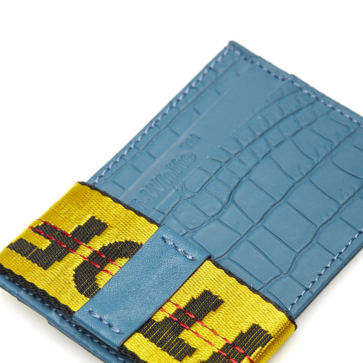 70f57ec63c7a Lyst - Off-White c o Virgil Abloh Card Holder in Blue for Men