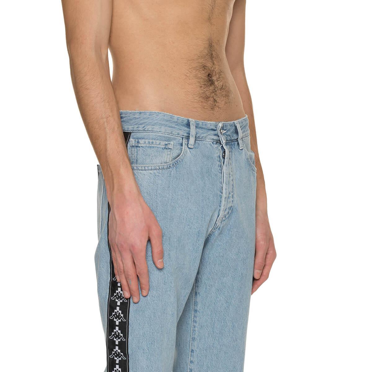 Marcelo Burlon Denim Kappa Jeans in Blue for Men