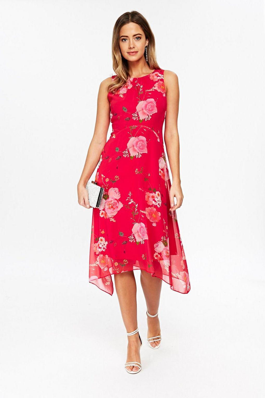 ccf8f502c Wallis Petite Blue Floral Maxi Dress | Saddha