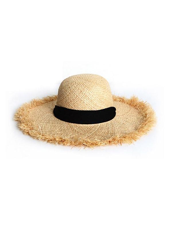 d5bd717a17 Lyst - SLEEPYSLIP Rofe Raffia Hat in Brown