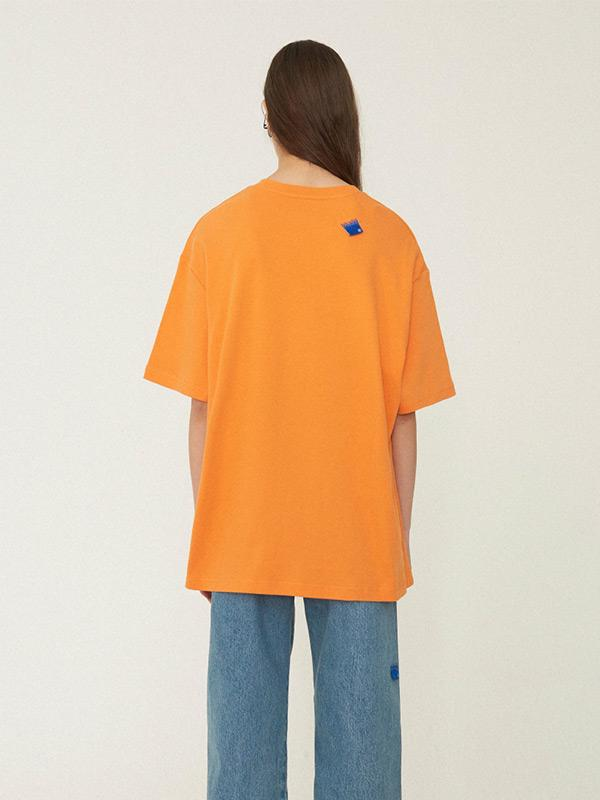 Lyst For Error T Shirt Orange Ader Synthesis In Men jSVpGzLqUM