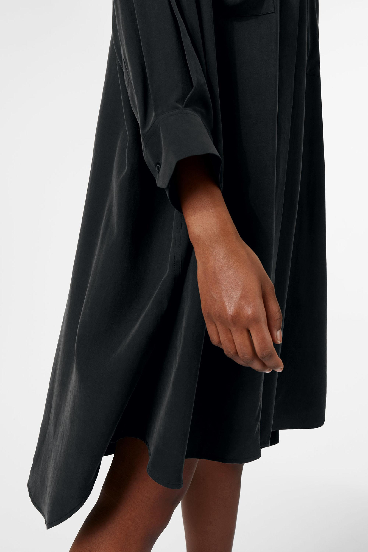 Weekday Maxima Dress in Black