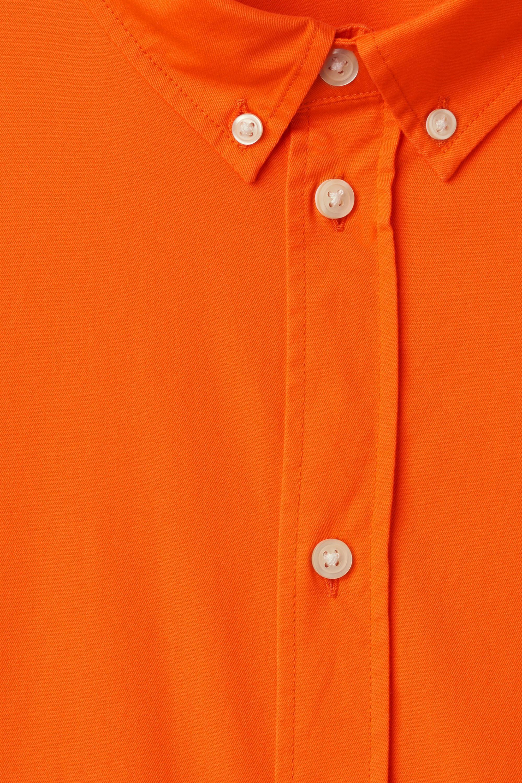 Weekday Cotton Seattle Twill Shirt in Coral (Orange) for Men
