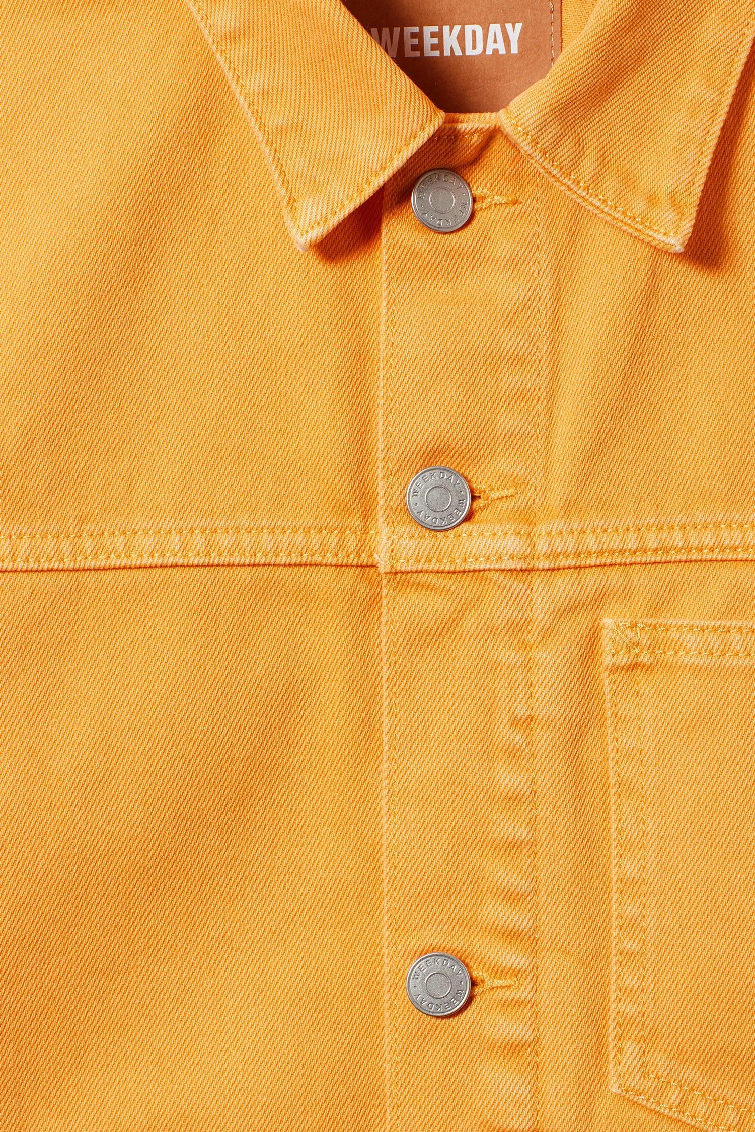 Weekday Denim Core Yellow Jacket for Men