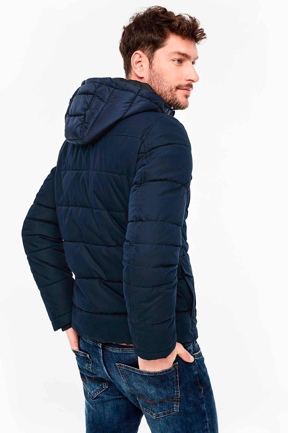 S.oliver Winterjas Donkerblauw in het Blauw voor heren