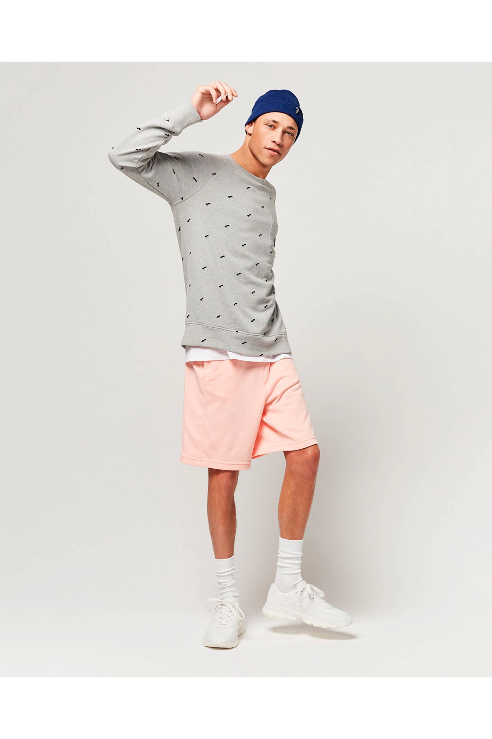 O'neill Sportswear We Fashion Trui Met All Over Print Grijs in het Grijs voor heren