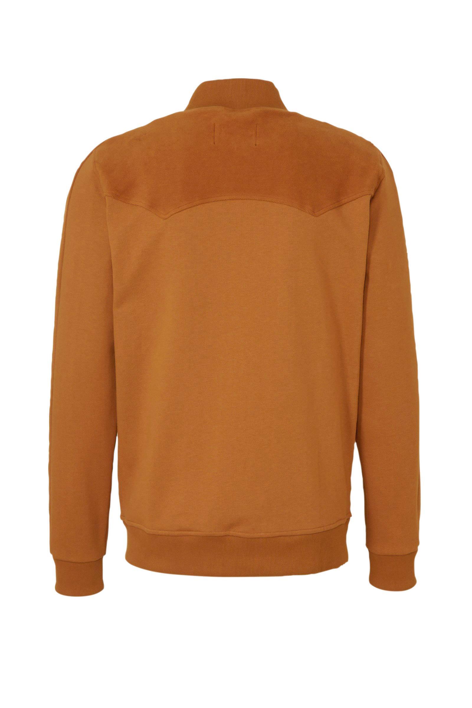 Kultivate Vest Oranje in het Oranje voor heren