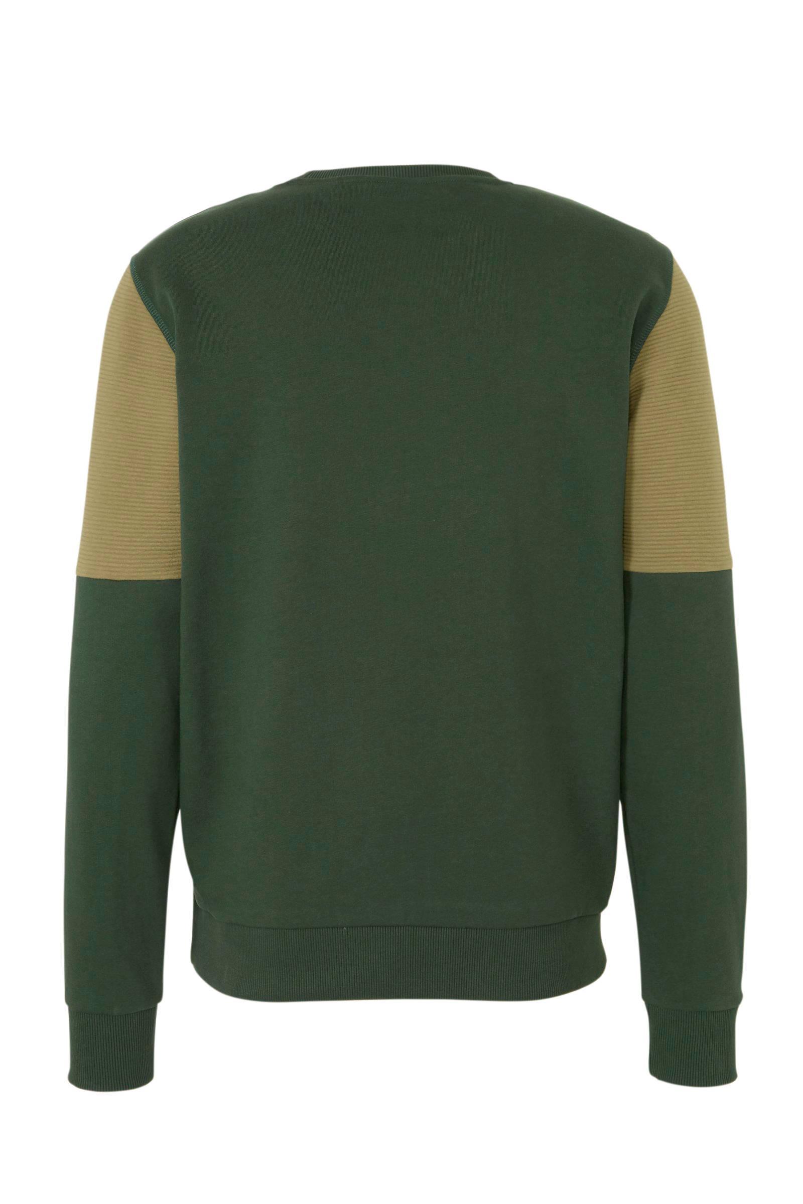 Kultivate Sweater Groen in het Groen voor heren