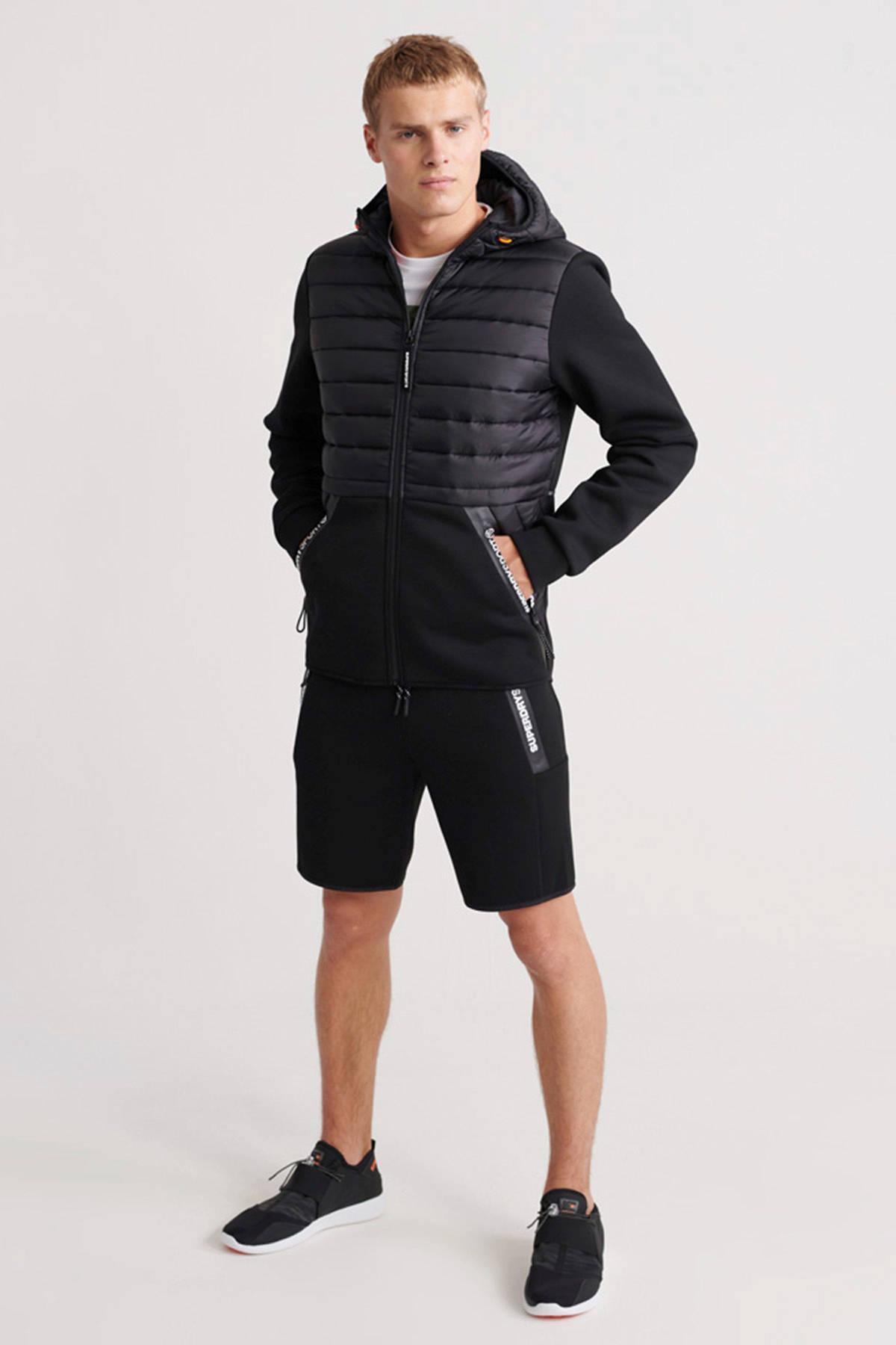 Superdry Sport Vest Zwart in het Zwart voor heren