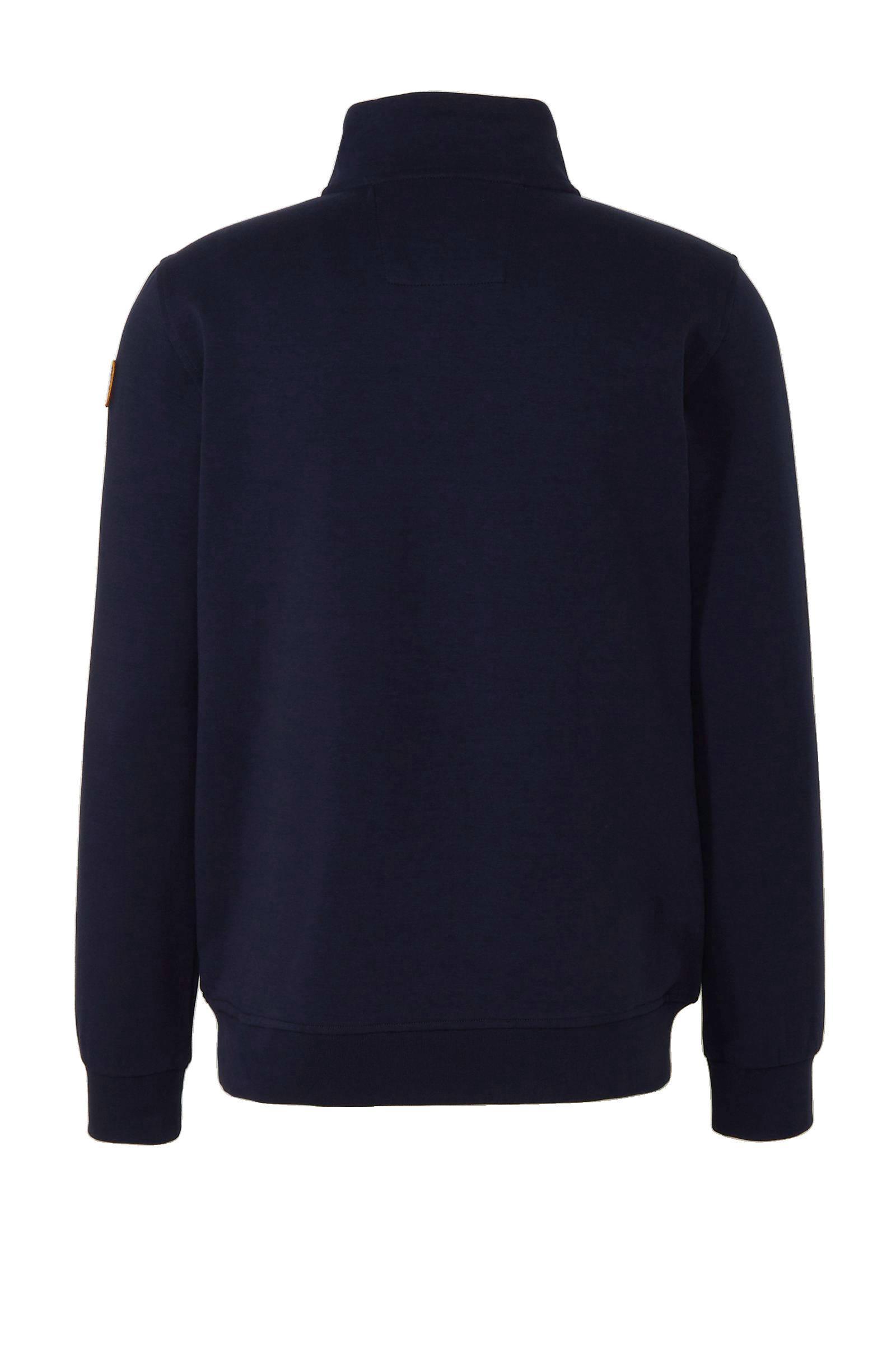 new zealand auckland Sweater Met Printopdruk Marine in het Blauw voor heren