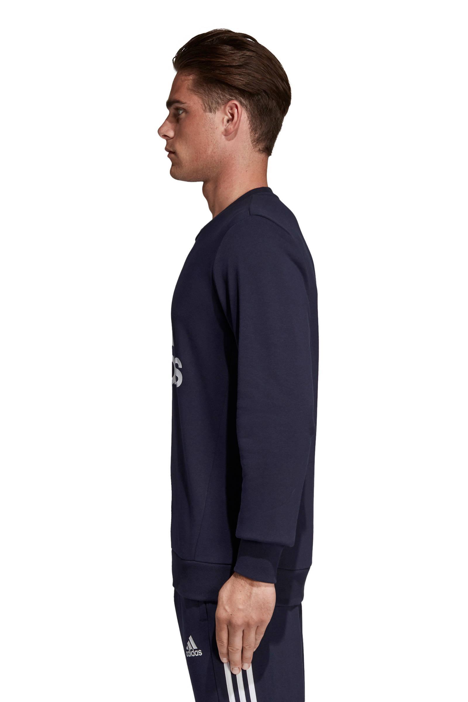 adidas Sportsweater in het Blauw voor heren