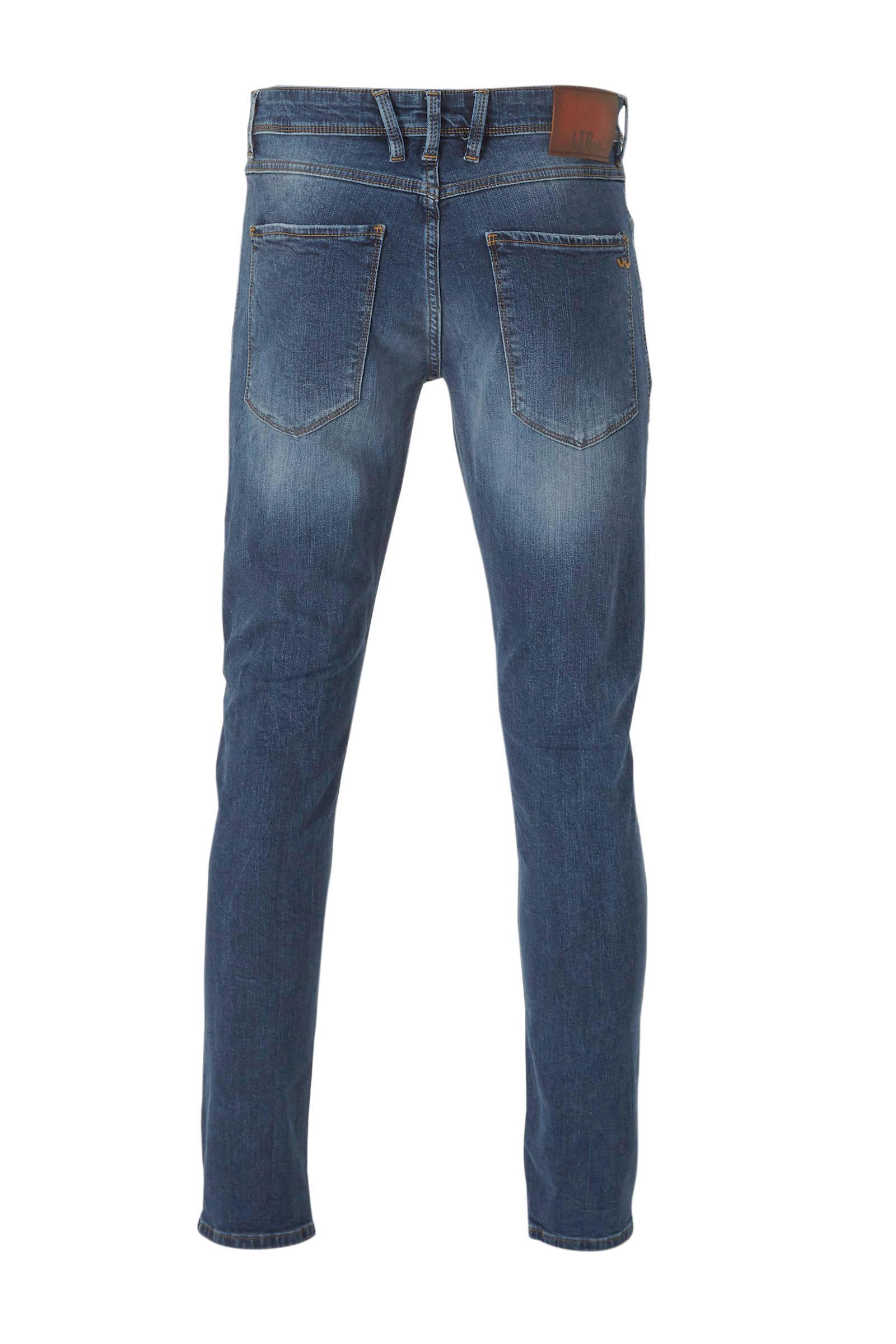 LTB Denim Slim Fit Jeans Jonas Sion in het Zwart voor heren