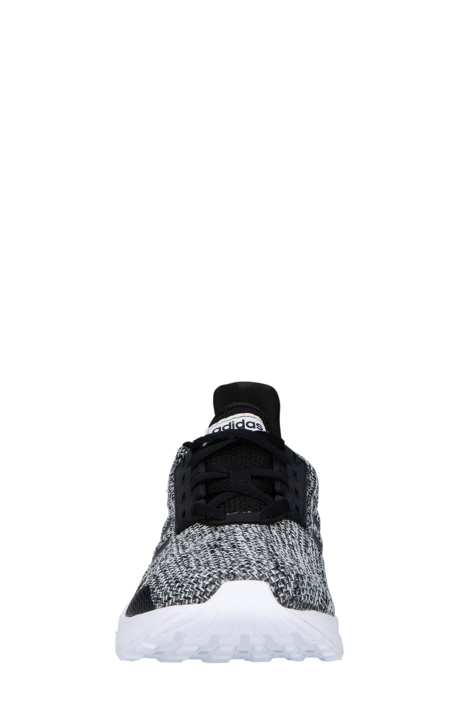 adidas Performance Duramo 9 Hardloopschoenen Zwart/grijs/wit in het Zwart voor heren