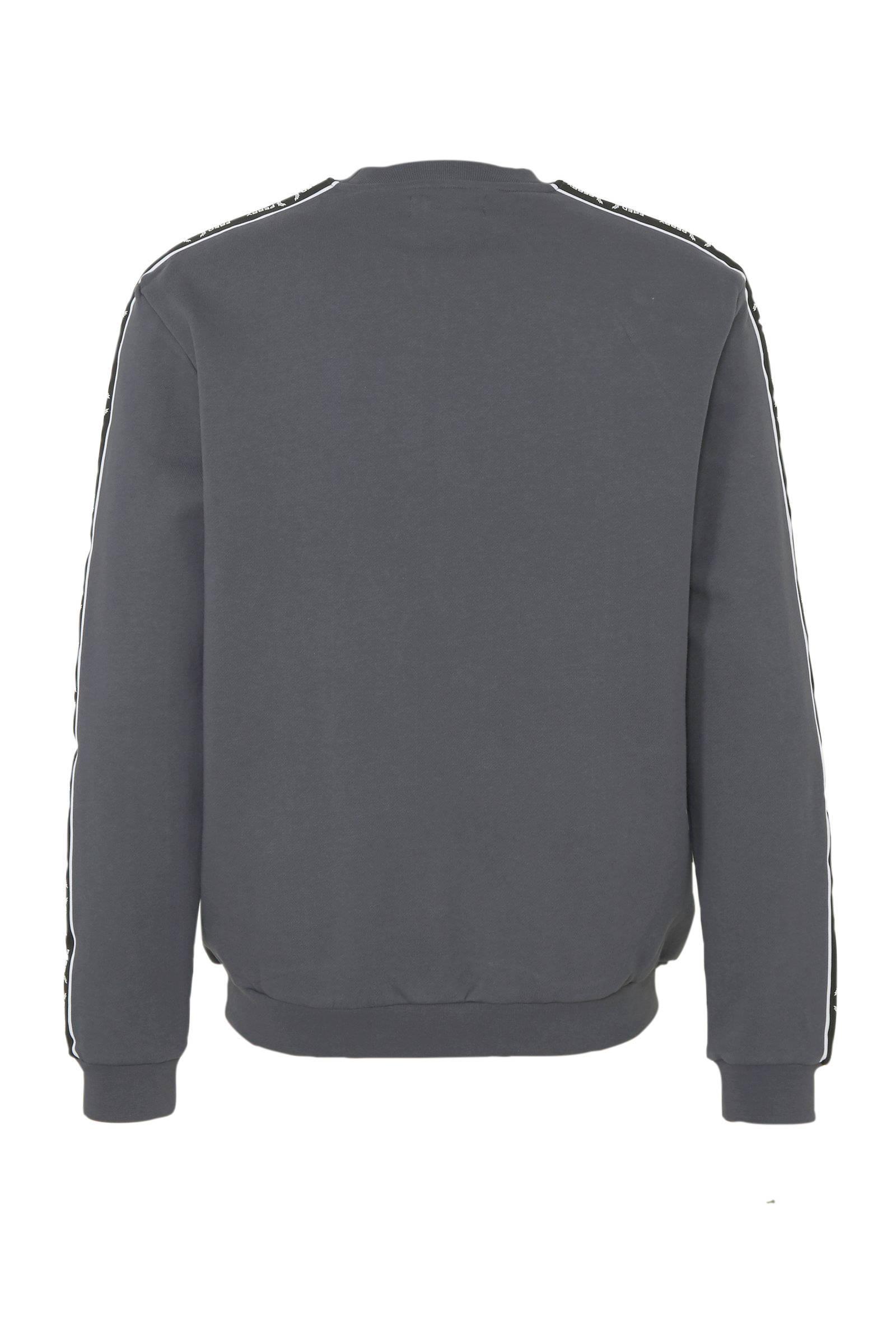 Fred Perry Sweater Antraciet in het Grijs voor heren