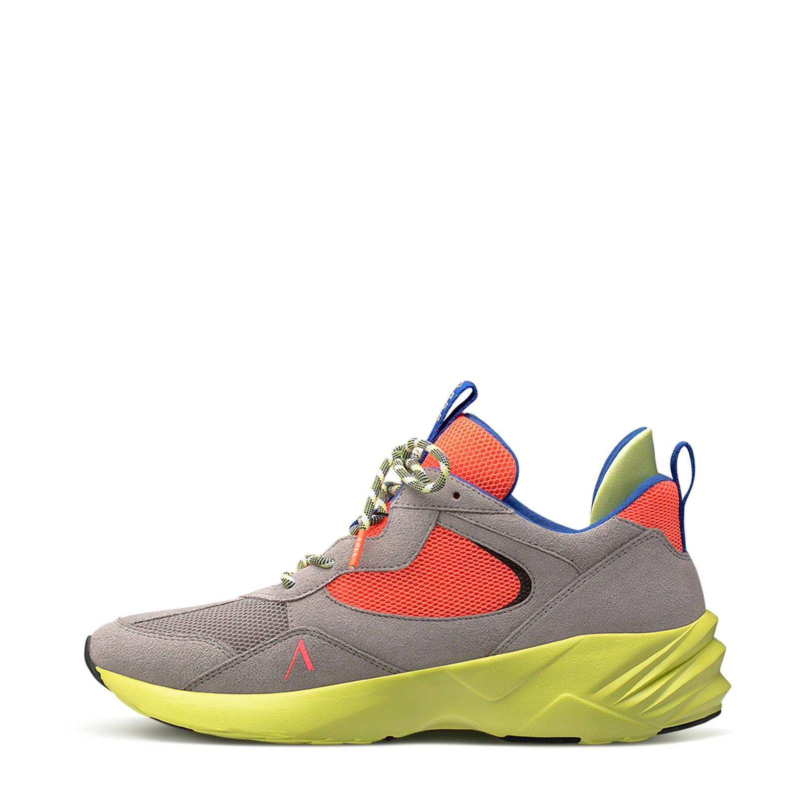 Arkk Kanetyk Suede W13 Sneakers Bruin/oranje in het Bruin voor heren