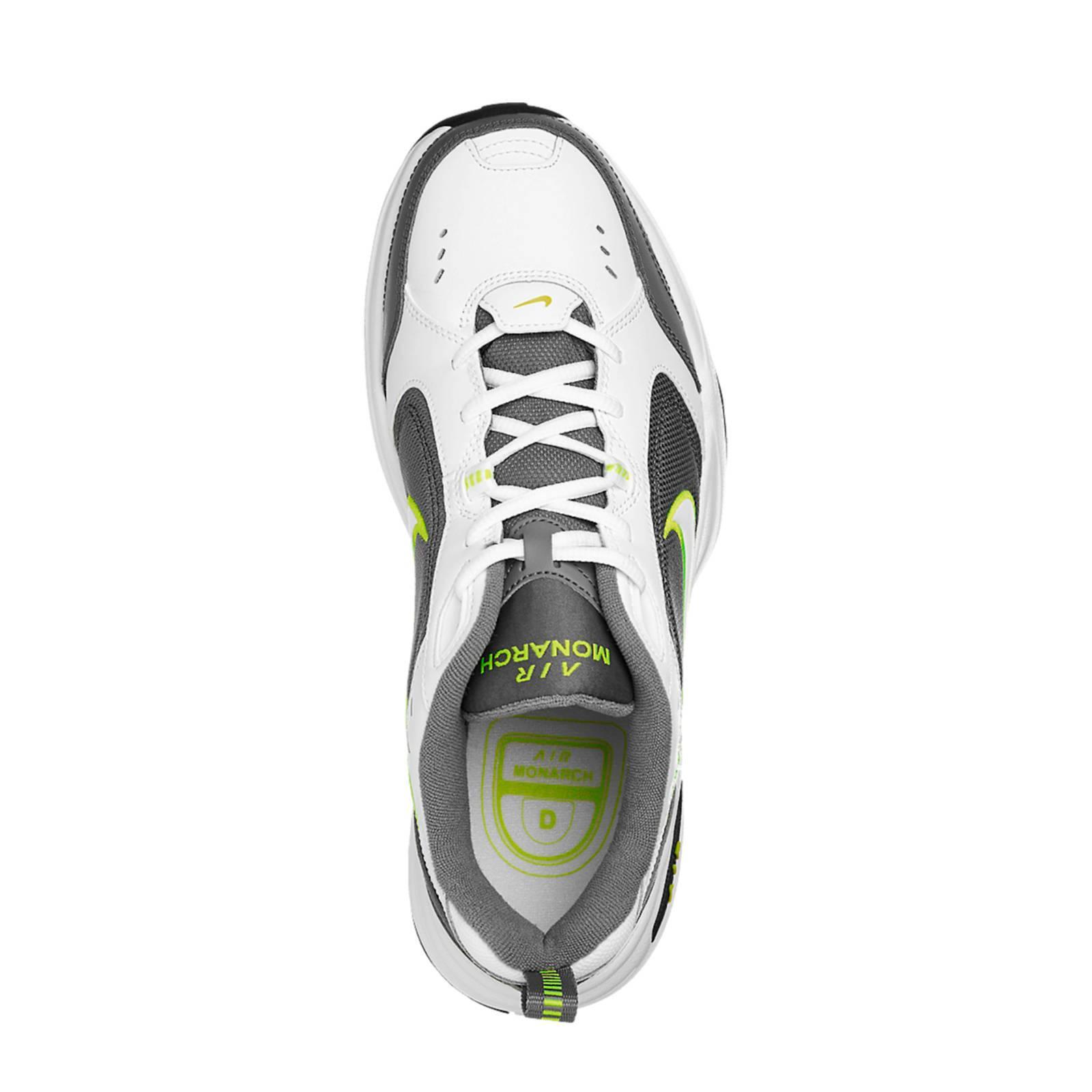 Nike Air Monarch Sneakers Wit/grijs in het Wit voor heren