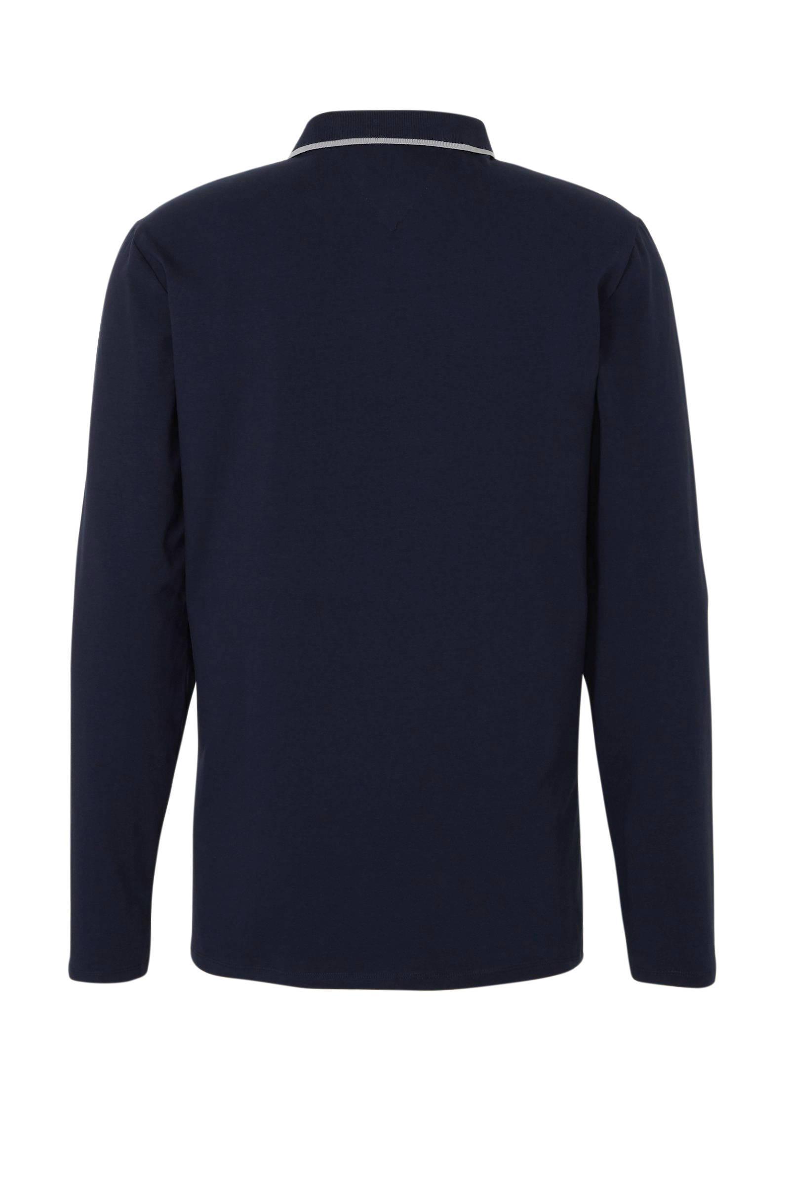 Guess Regular Fit Polo Donkerblauw in het Blauw voor heren