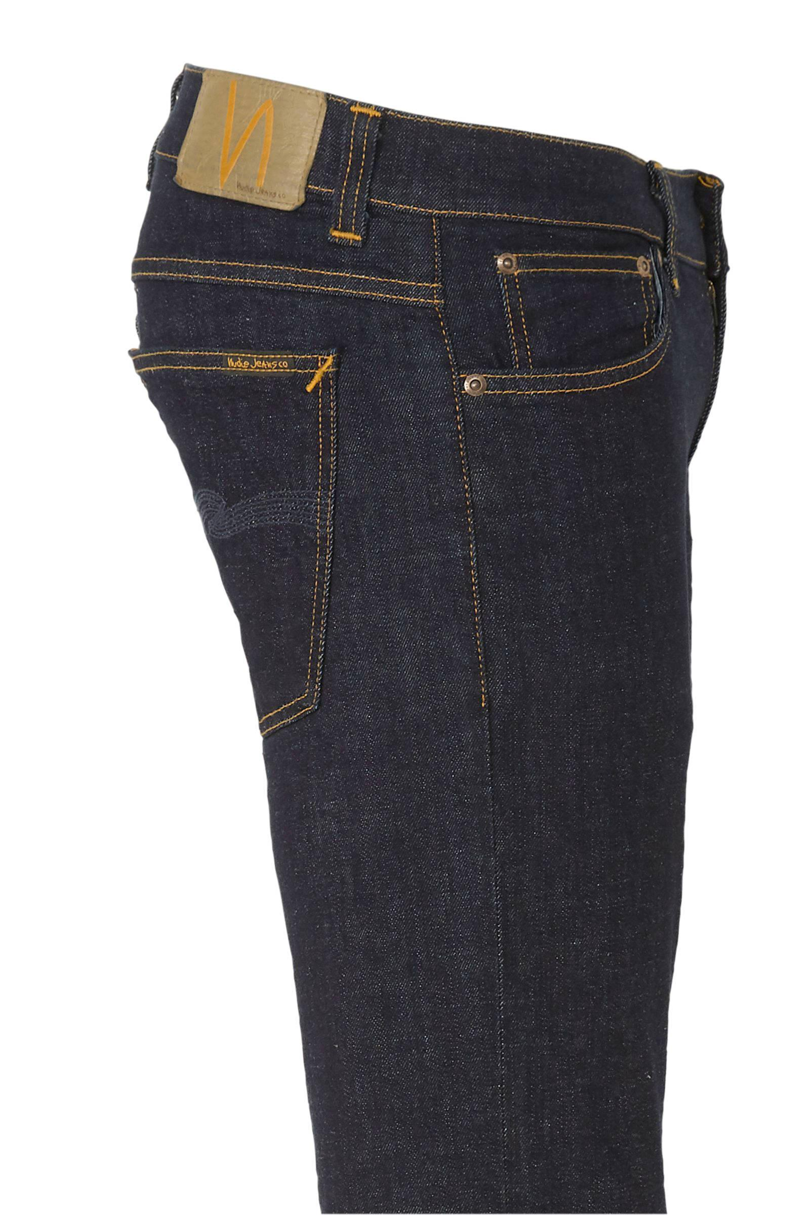 Nudie Jeans Denim Slim Fit Jeans Tight Terry Rinse Twill in het Blauw voor heren