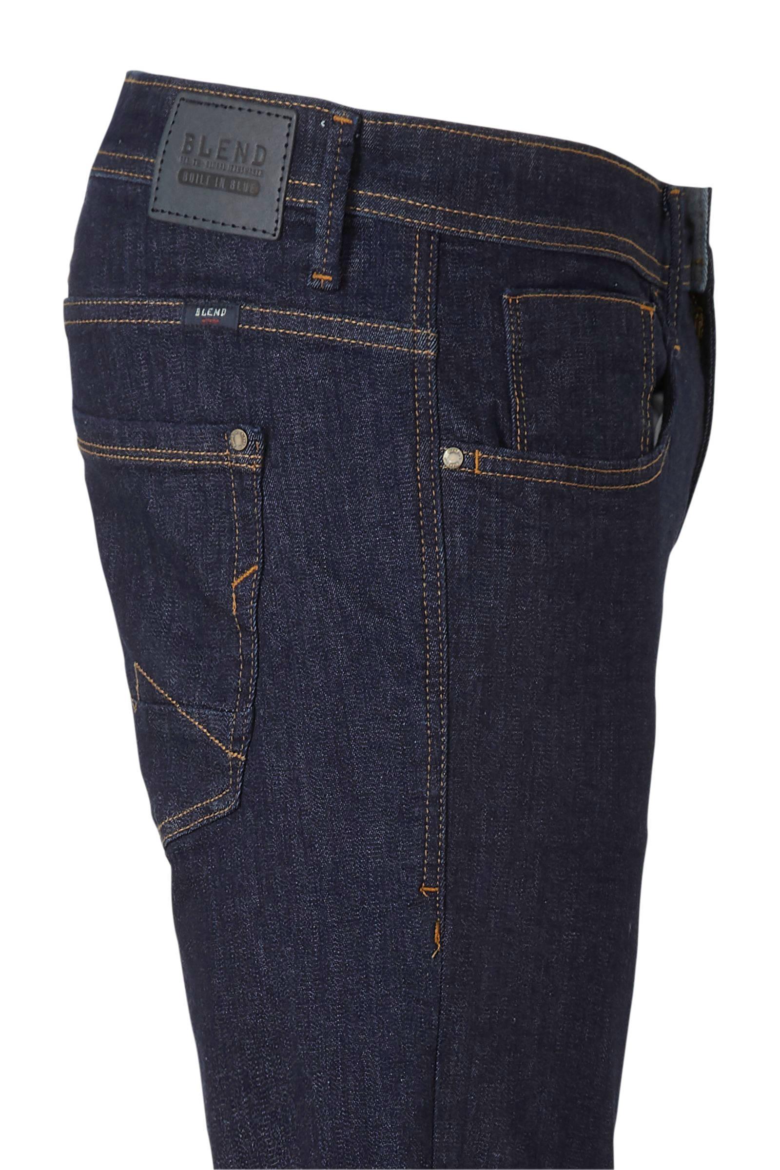 Blend Denim Slim Fit Jeans Multiflexjet Dark Blue voor heren