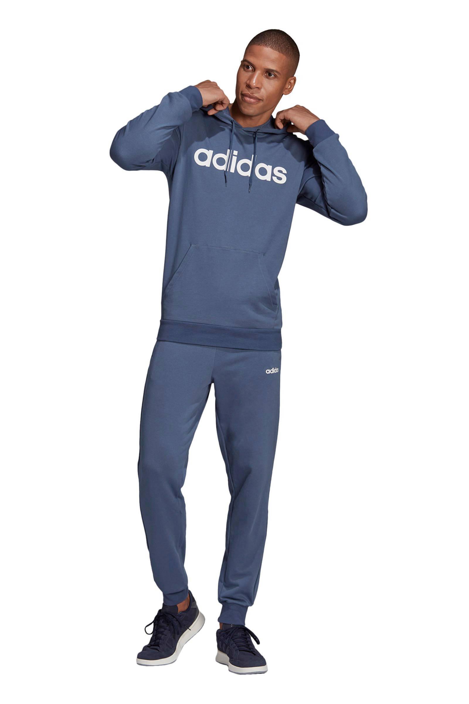 adidas Performance Trainingspak Grijs/donkerblauw in het Blauw voor heren
