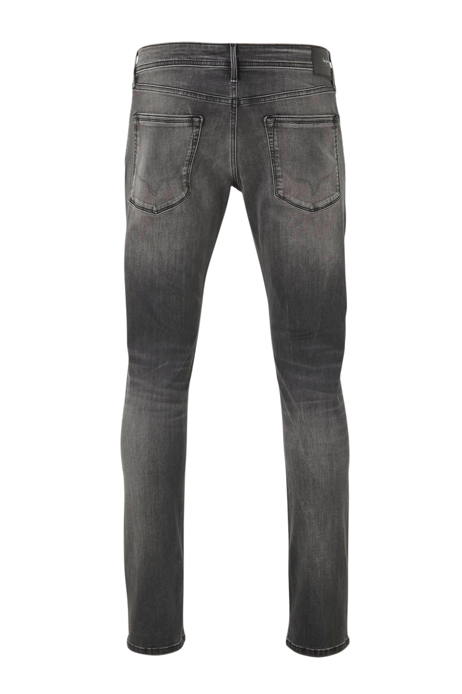 Pepe Jeans Denim Regular Fit Jeans Stanley in het Grijs voor heren