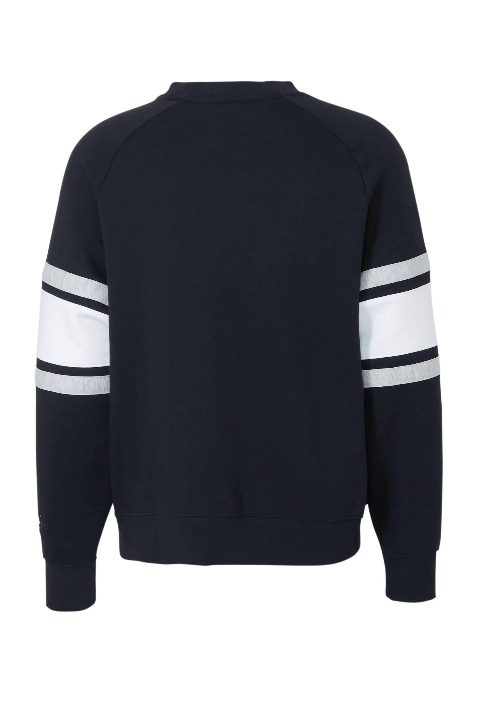 Nike Air Sportsweater Zwart/grijs in het Zwart voor heren