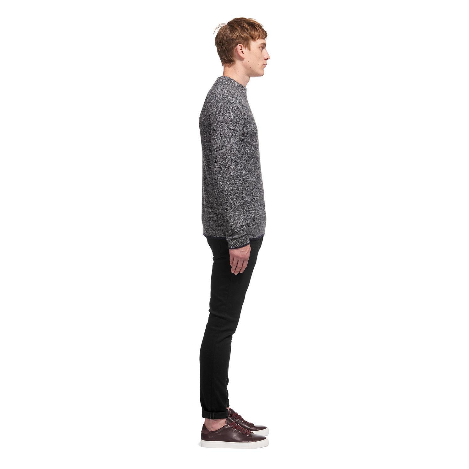 Whistles Denim Black/black Slim-fit Jeans for Men