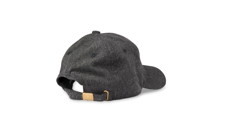 Whistles Herringbone Baseball Cap In Gray For Men Lyst 85fede2570d2