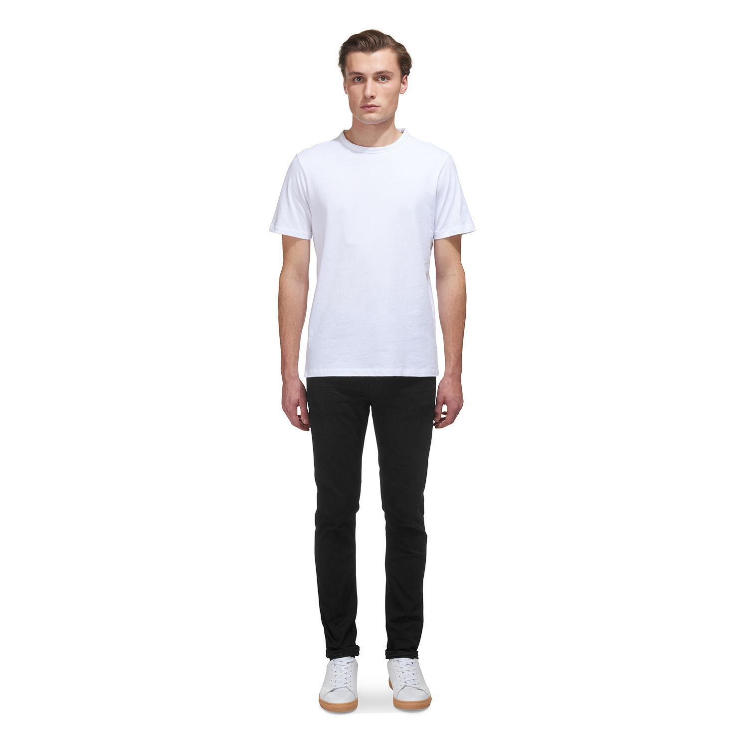 Whistles Black/black Slim Fit Jeans for Men