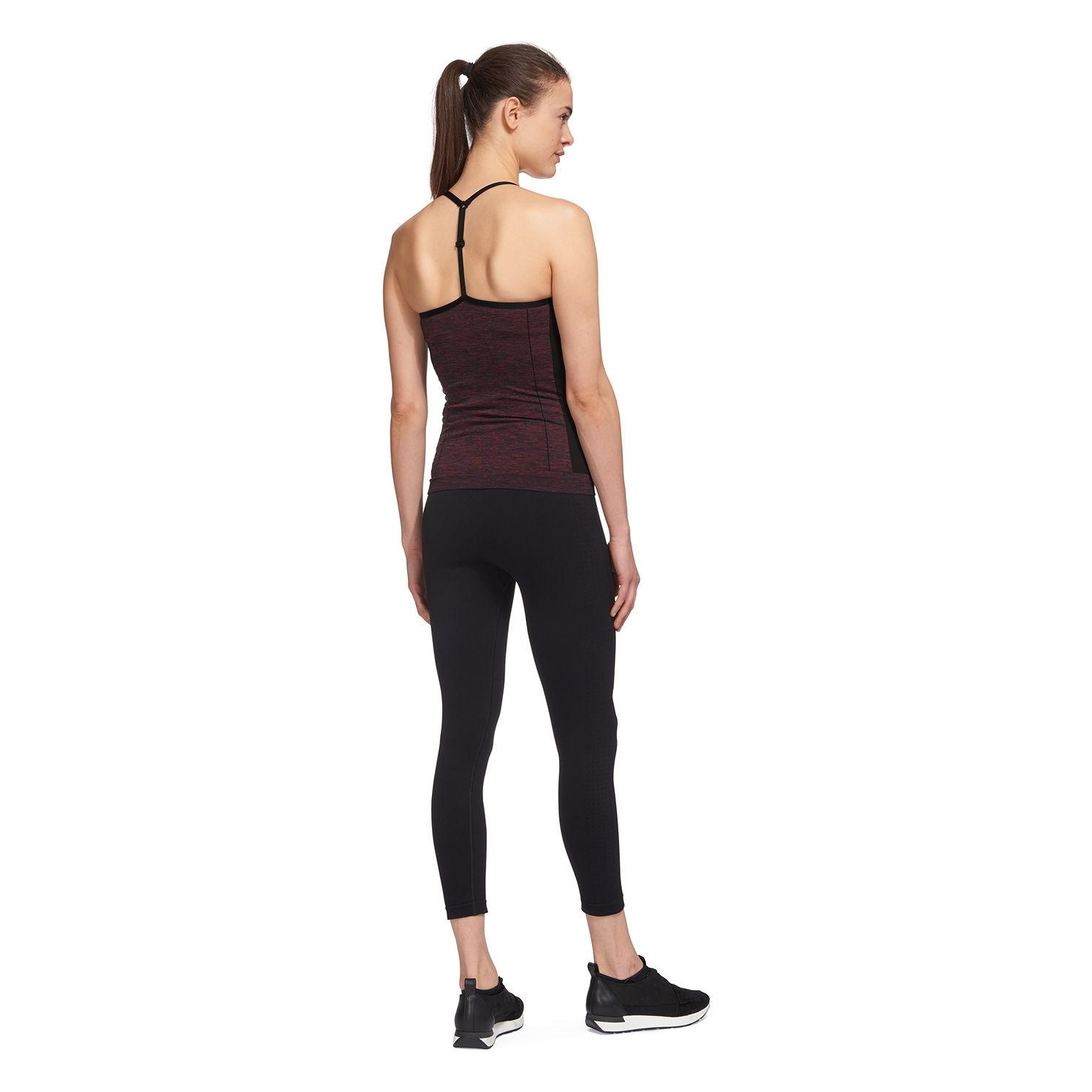 Whistles Synthetic Longline Sports Top in Red