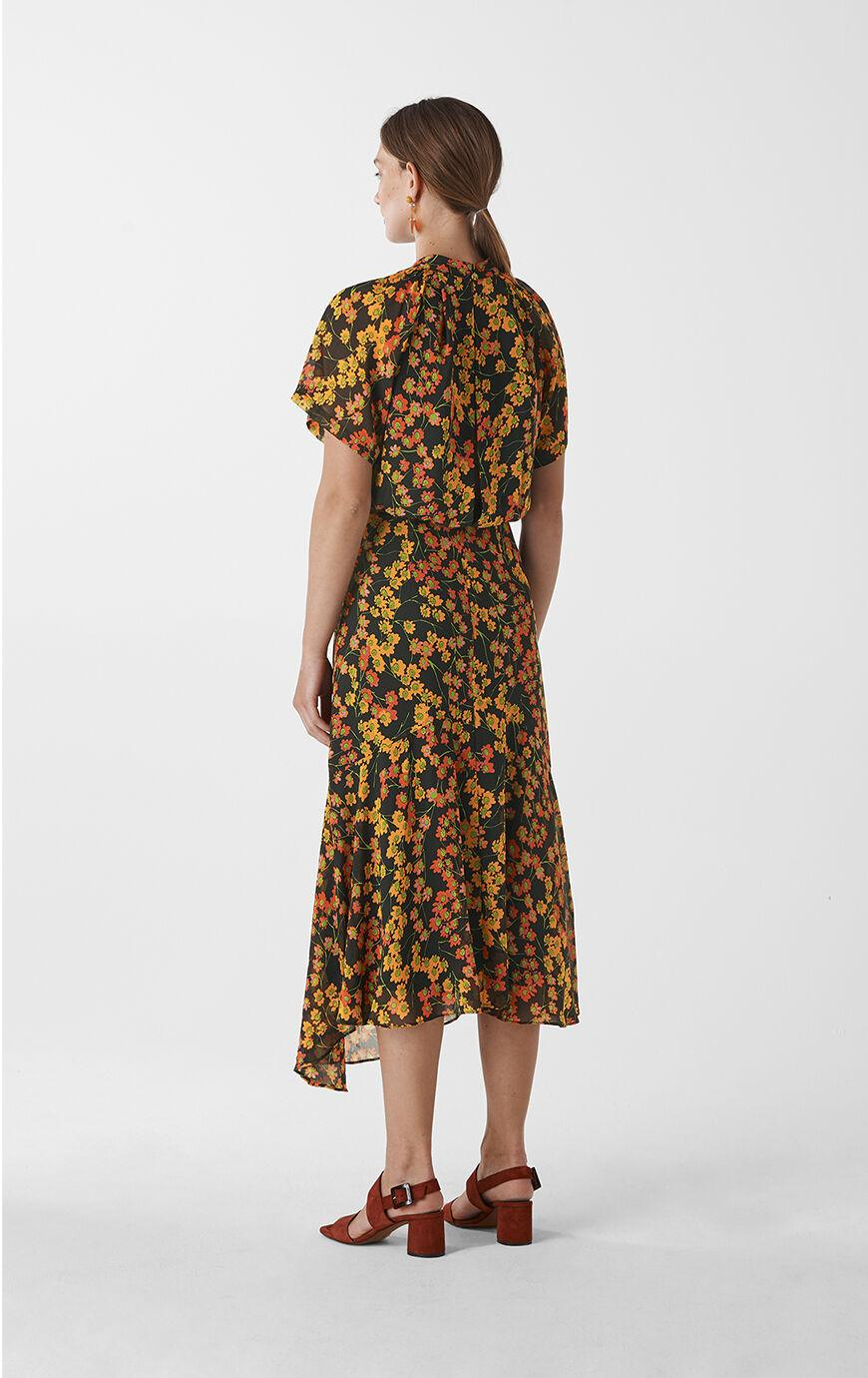 Whistles Synthetic Daisy Print Stine Dress - Lyst
