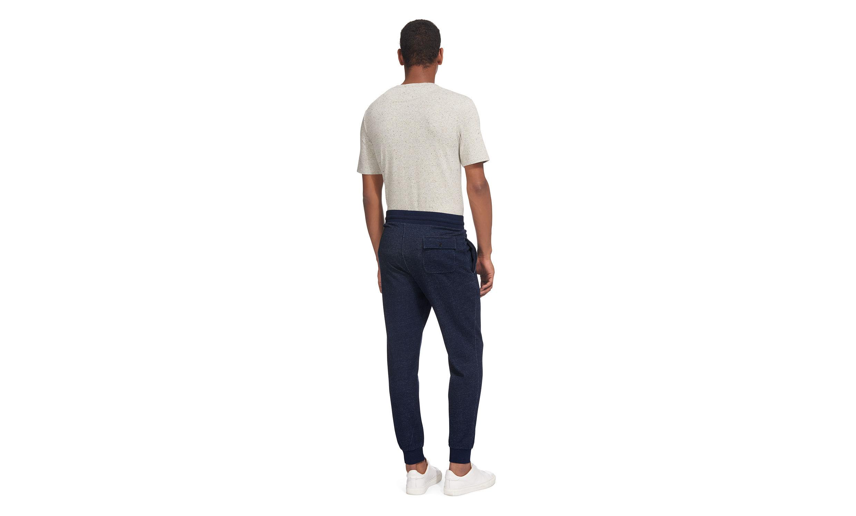 Whistles Cotton Indigo Sweatpants in Navy (Blue) for Men
