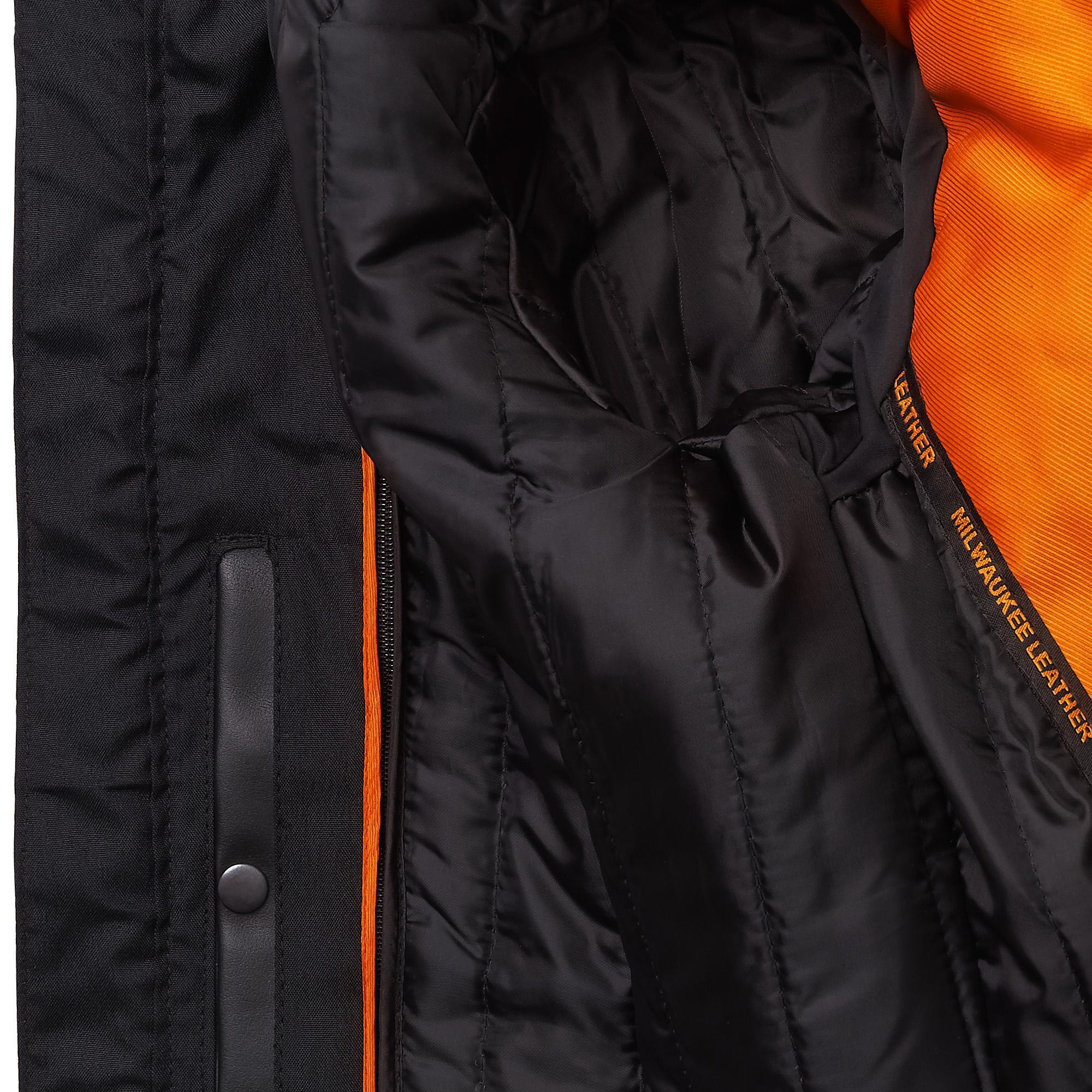 93ca46ec0112c8 ... Big   Tall Milwaukee Leather Tab Collar Leather Jacket W  Zip. View  fullscreen