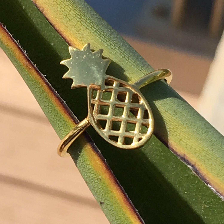 LÁTELITA London Cosmic Pineapple Ring Rosegold