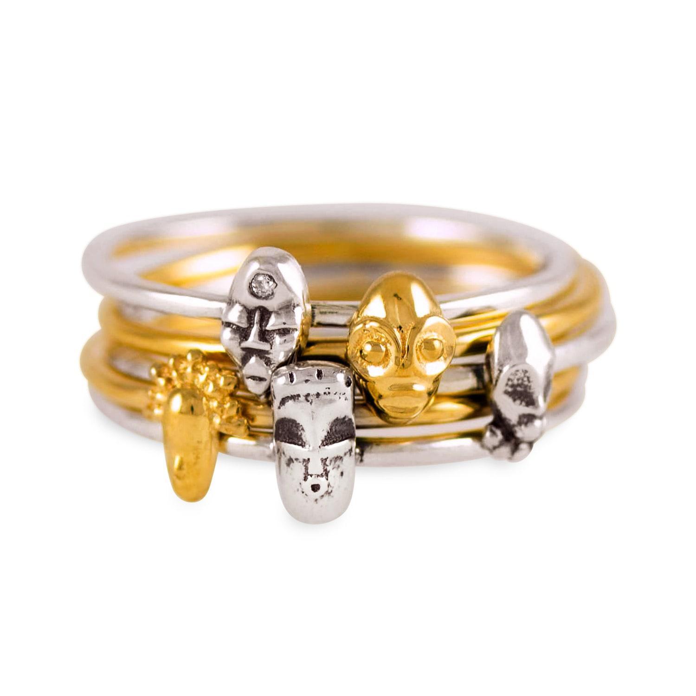 Lyst Lee Renee Tiny Voodoo Erzulie Ring Diamond