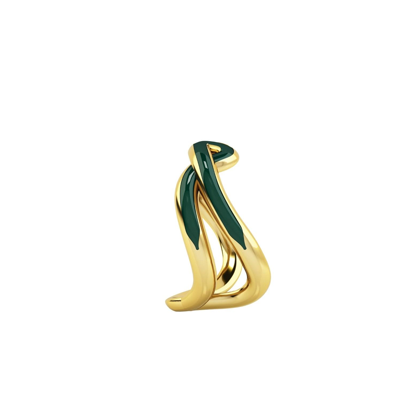 1986 Wiggle Wiggle Thread Emerald Green & Gold