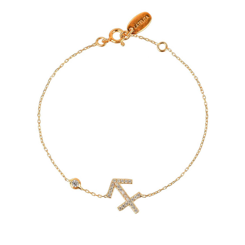 Latelita London Capricorn Zodiac Bracelet Gold AgnslS