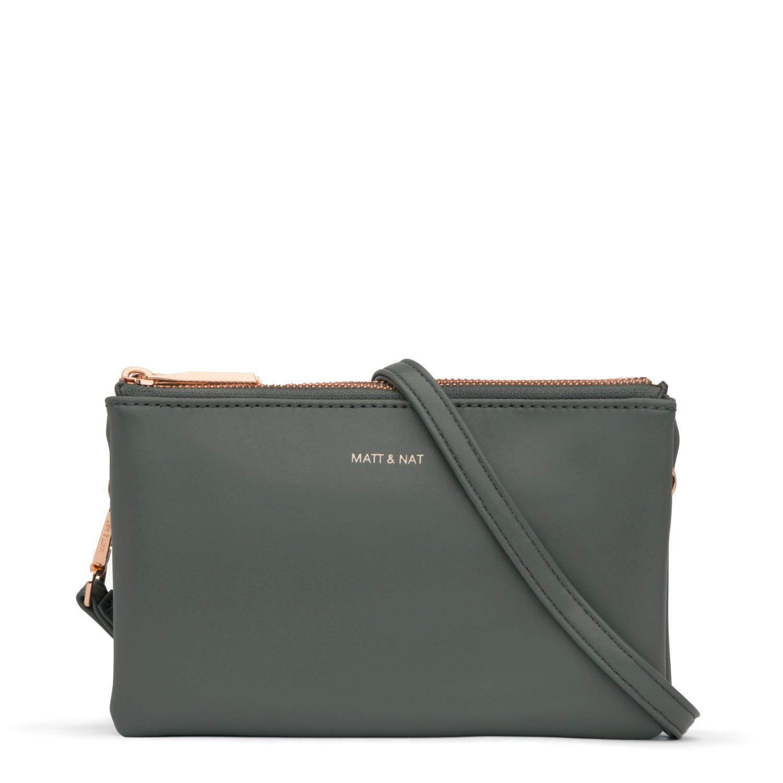 Matt /& Nat Inver Handbag Thyme Loom Collection Green