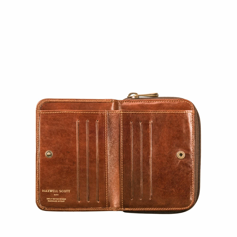 4681b99180f6 Maxwell Scott Bags - Brown Luxury Italian Leather Women s Purse Chestnut  Tan - Lyst