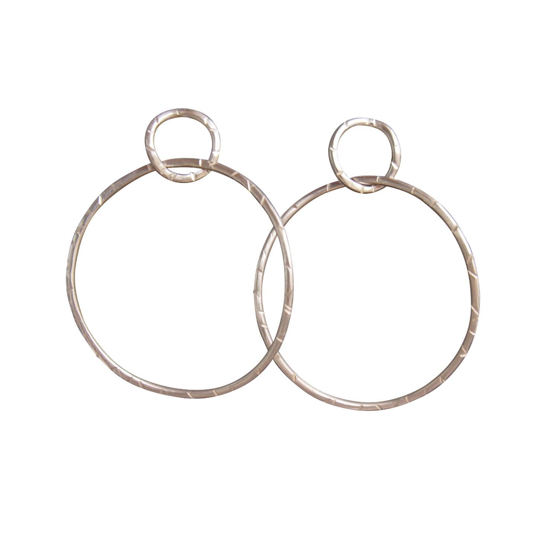 Kyanite earrings handmade made in italy big earring abstract earring 925 silver earring baroque pearl earring black rhodium silver