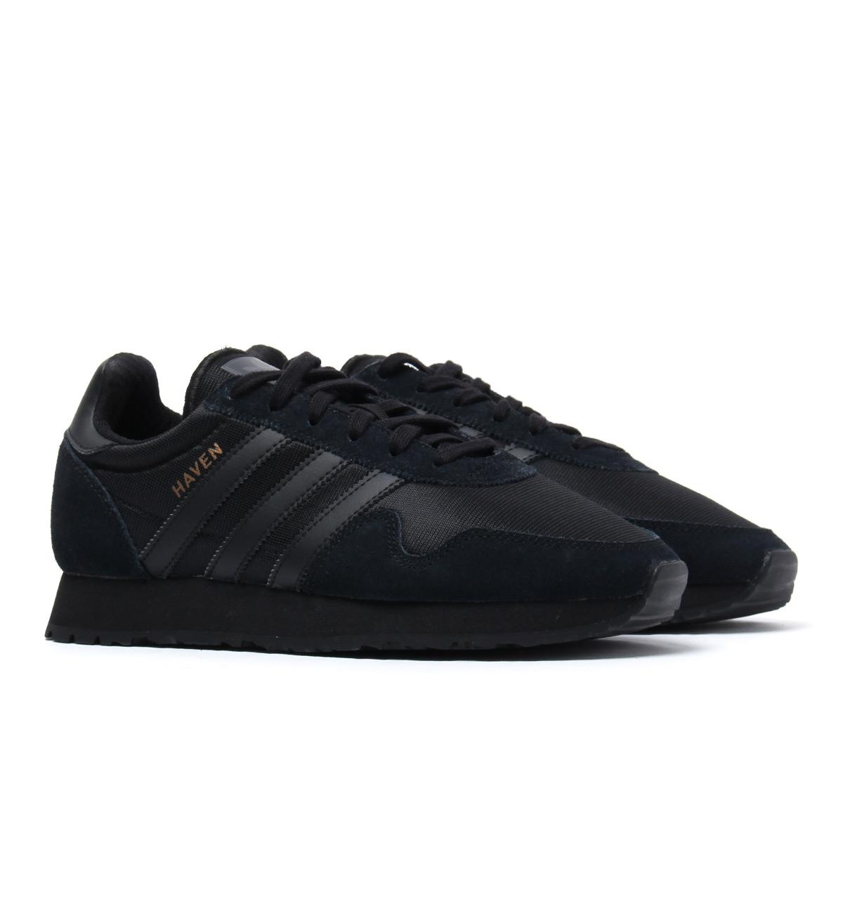 Lyst - adidas Originals Black Haven Trainers in Black for Men ae93ef615