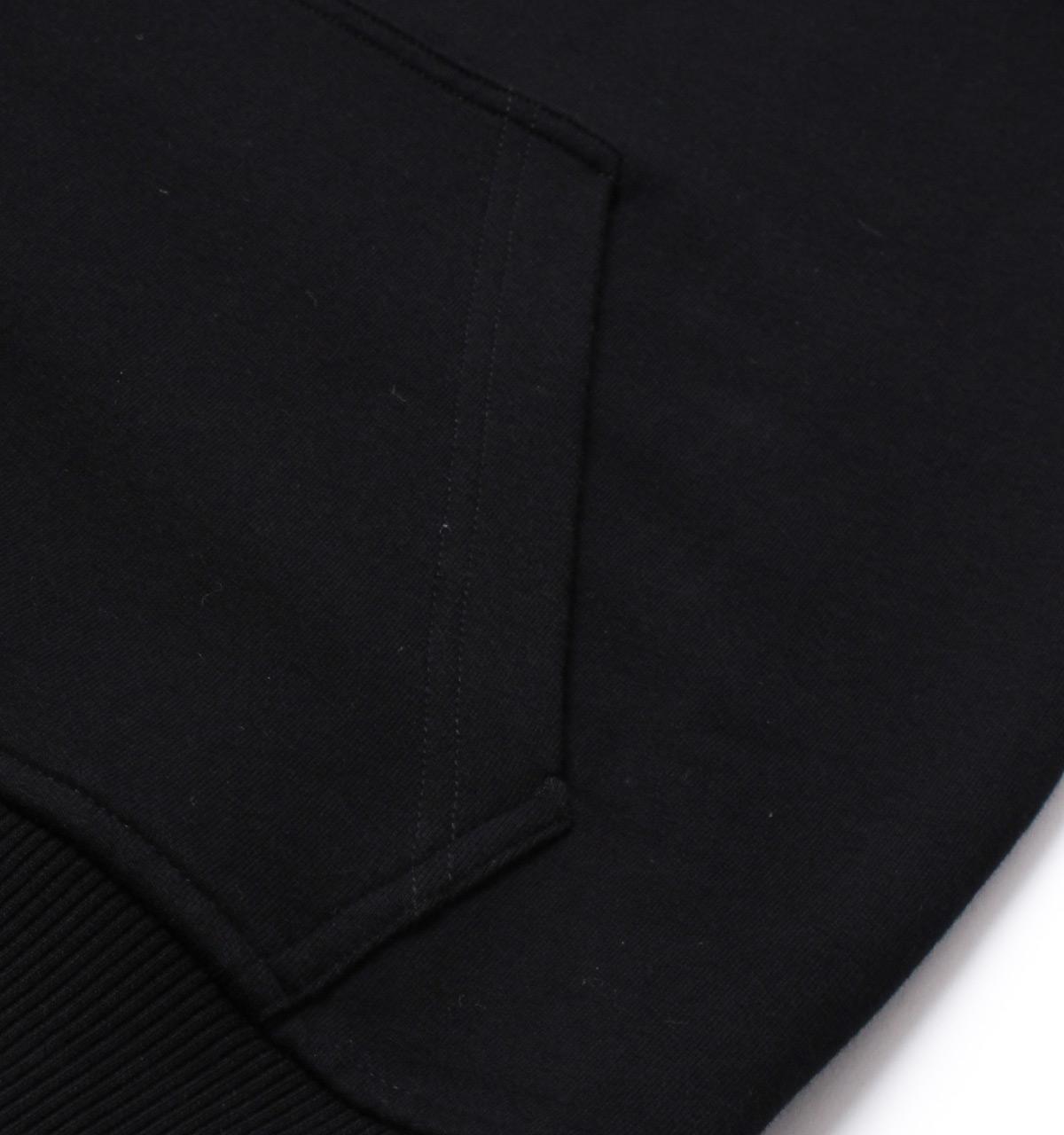 Michael Kors Cotton Stretch Black Funnel Neck Sweatshirt for Men