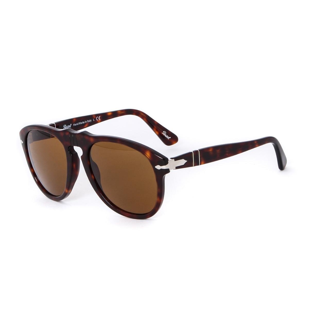 15ff34ae5ad Persol 649 Havana Brown Acetate Aviator Sunglasses in Brown for Men ...