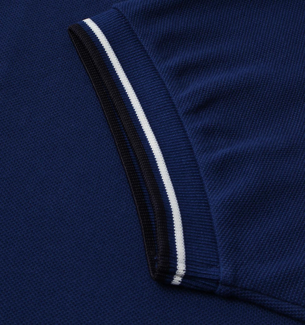 Lyst Fred Perry Medieval Blue Twin Tipped Short Sleeve