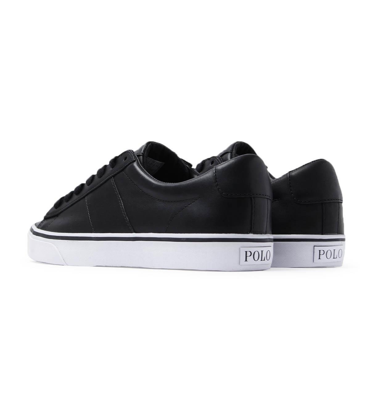 Polo Ralph Lauren Sayer Leather Black