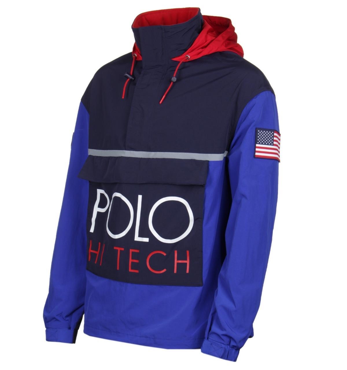 d1ad58318 Polo Ralph Lauren - Hi Tech Royal Blue Pullover for Men - Lyst. View  fullscreen