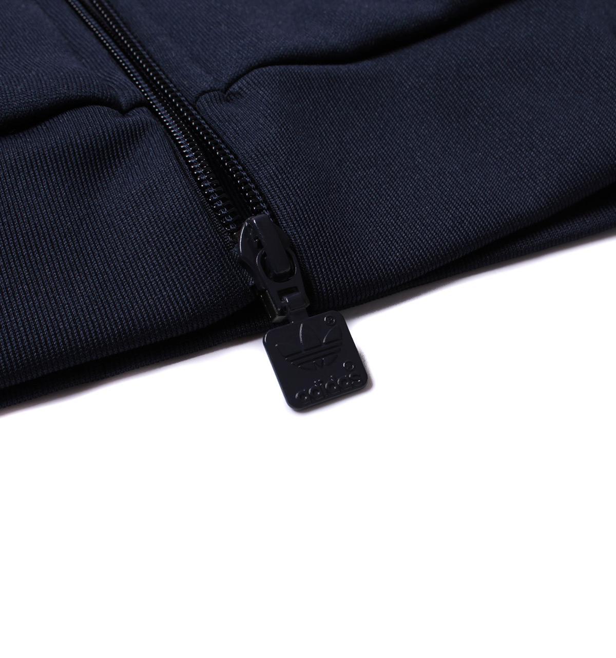 adidas Originals Synthetic Adidas Sst Tt Navy Zip Through Tracksuit Sweatshirt in Blue for Men