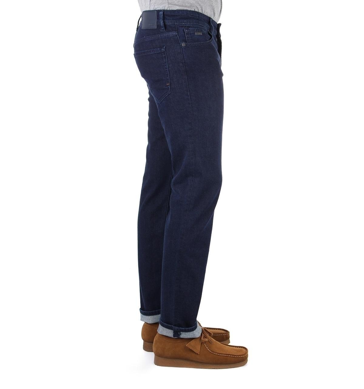 e27635ea1292 BOSS by Hugo Boss - Blue Boss Maine Indigo Royal Regular Fit Jeans for Men  -. View fullscreen